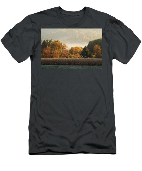 Autumn Cornfield Men's T-Shirt (Athletic Fit)