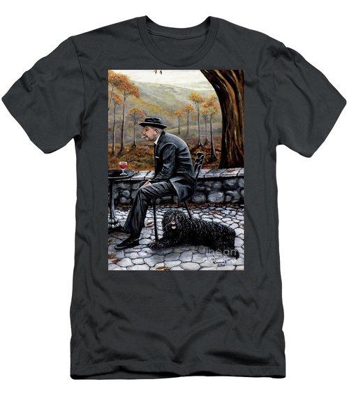 Autumn Friends Men's T-Shirt (Athletic Fit)