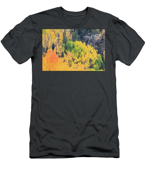 Men's T-Shirt (Slim Fit) featuring the photograph Autumn Glory by David Chandler