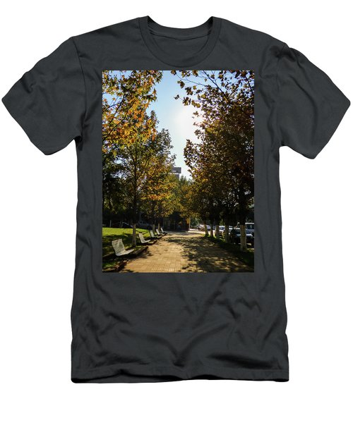 Autumn In Argentina Men's T-Shirt (Athletic Fit)