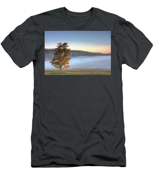 Autumn In Canaan Valley Wv  Men's T-Shirt (Athletic Fit)