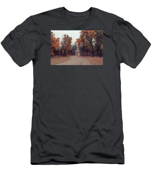 Autumn In Montana Men's T-Shirt (Slim Fit) by Cathy Anderson