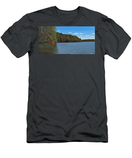 Autumn In Muskoka Men's T-Shirt (Athletic Fit)