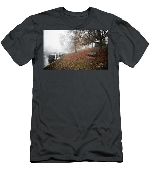 Autumn In River Cam Men's T-Shirt (Athletic Fit)