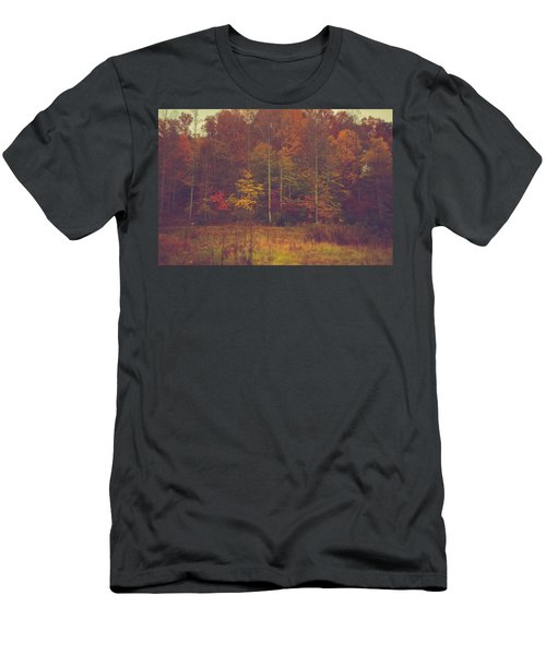 Autumn In West Virginia Men's T-Shirt (Athletic Fit)