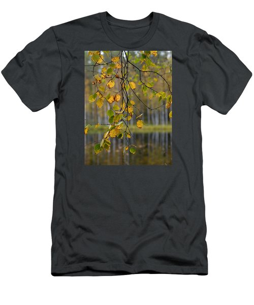 Autumn  Men's T-Shirt (Slim Fit) by Jouko Lehto