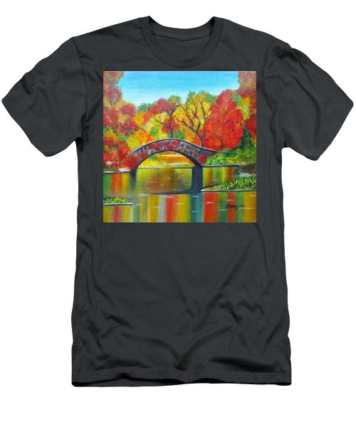 Autumn Landscape -colors Of Fall Men's T-Shirt (Athletic Fit)