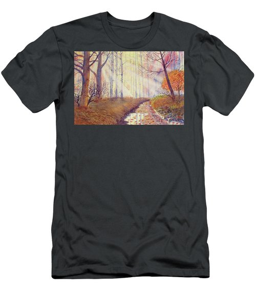 Autumn Memories Men's T-Shirt (Athletic Fit)