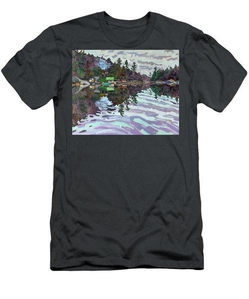 Autumn Narrows Men's T-Shirt (Athletic Fit)