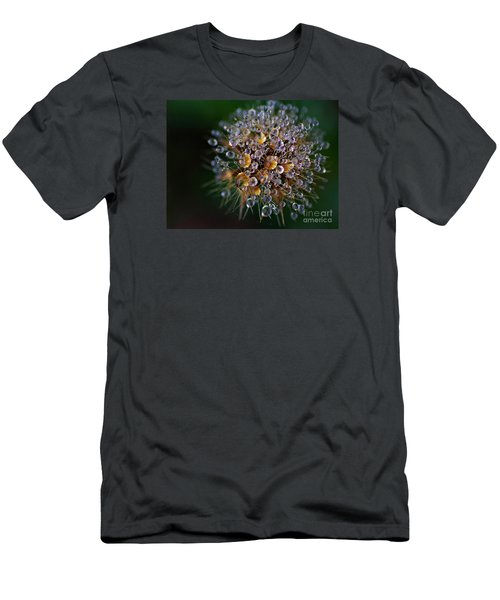 Men's T-Shirt (Slim Fit) featuring the photograph Autumn Pearls by AmaS Art