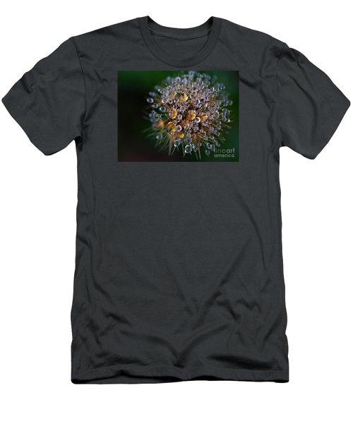 Autumn Pearls Men's T-Shirt (Slim Fit) by AmaS Art