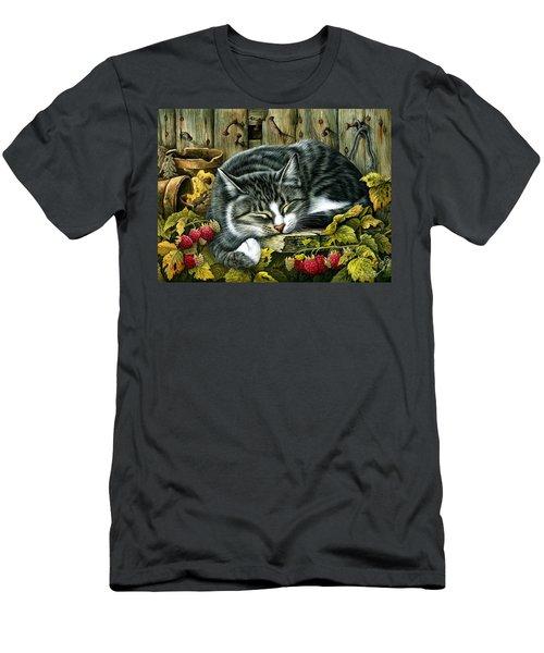 Autumn Siesta Men's T-Shirt (Athletic Fit)
