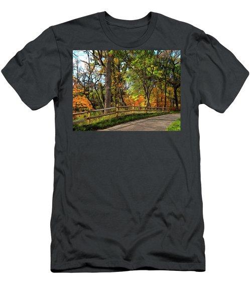 Autumn Song Men's T-Shirt (Athletic Fit)