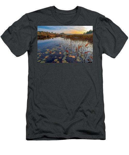 Autumn Sunrise At Compass Pond Men's T-Shirt (Athletic Fit)