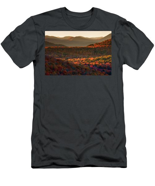 Autumn Tapestry Men's T-Shirt (Athletic Fit)