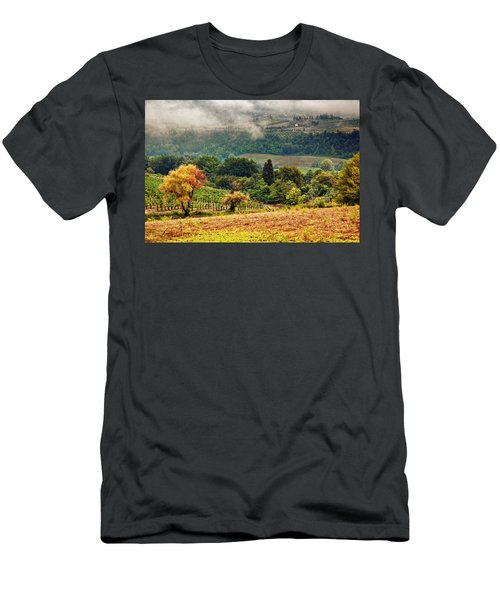 Autumnal Hills Men's T-Shirt (Athletic Fit)