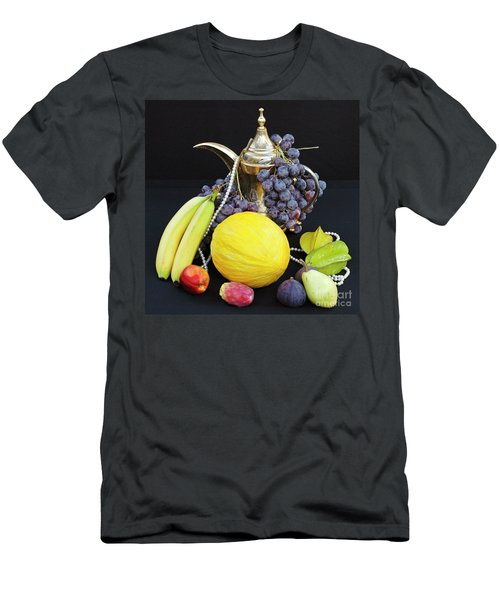 Men's T-Shirt (Athletic Fit) featuring the photograph Symphony Of Forbidden Fruits by Silva Wischeropp