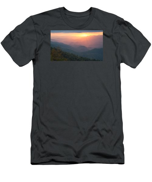 Men's T-Shirt (Slim Fit) featuring the photograph Autumn's Promise by Doug McPherson