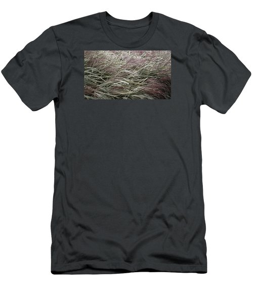 Autumn's Stripes Men's T-Shirt (Slim Fit) by Tim Good