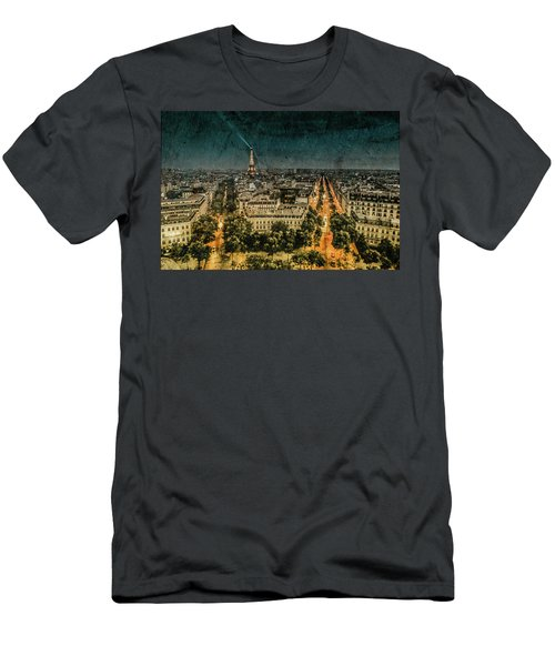 Paris, France - Avenue Kleber Men's T-Shirt (Athletic Fit)