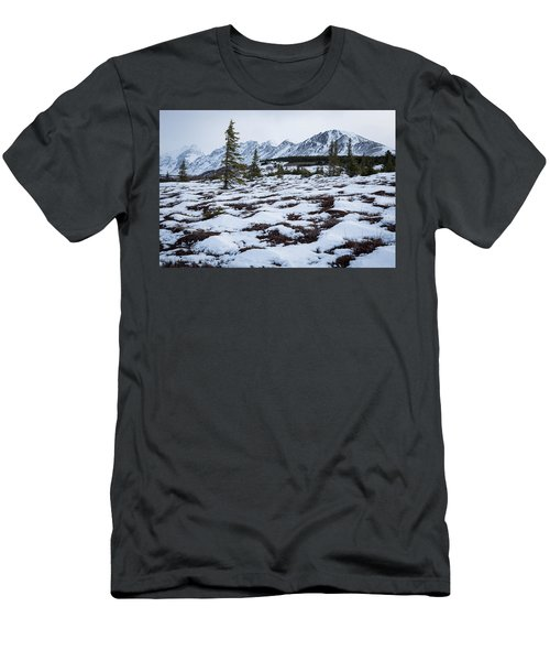 Awaiting Spring Men's T-Shirt (Athletic Fit)