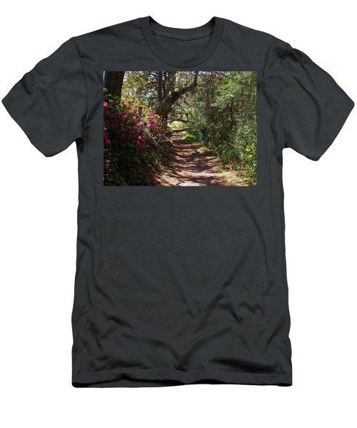 Azalea Path  Men's T-Shirt (Athletic Fit)