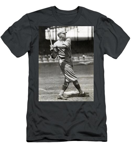 Babe Ruth Swings C. 1916 Men's T-Shirt (Athletic Fit)