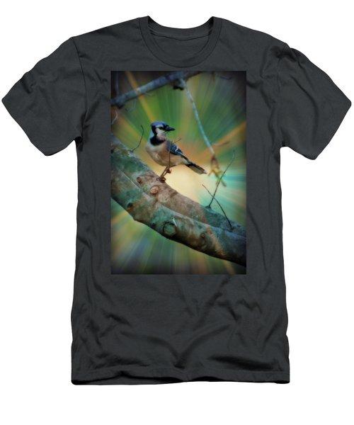 Baby Blue Men's T-Shirt (Slim Fit) by Trish Tritz