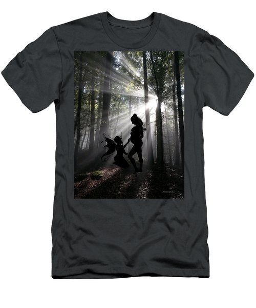 Men's T-Shirt (Athletic Fit) featuring the photograph Baby Magic 589 by Ericamaxine Price