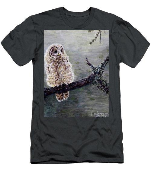 Baby Owl Men's T-Shirt (Athletic Fit)