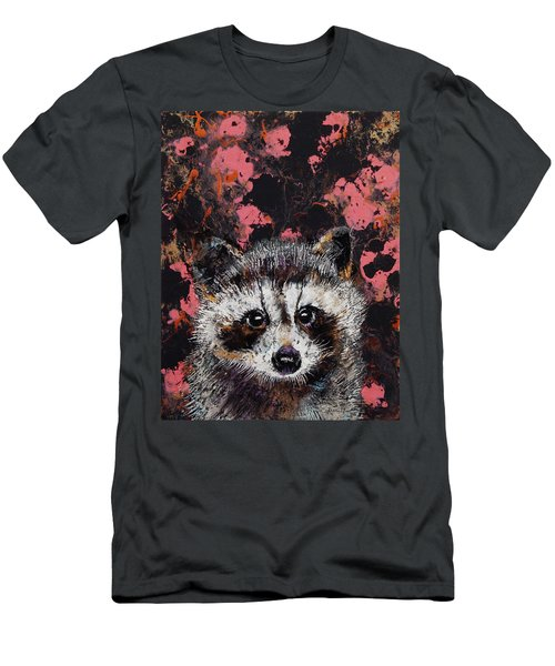 Baby Raccoon Men's T-Shirt (Athletic Fit)