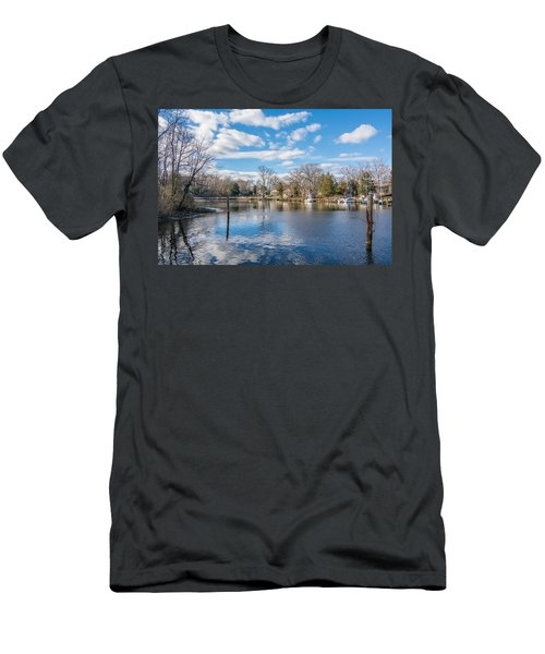 Men's T-Shirt (Athletic Fit) featuring the photograph Back Creek by Charles Kraus