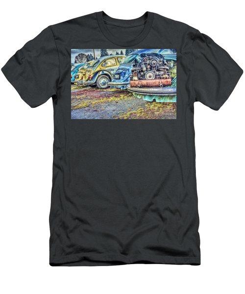 Men's T-Shirt (Slim Fit) featuring the photograph Back End Bugs by Jean OKeeffe Macro Abundance Art