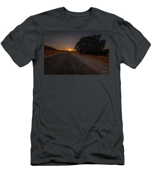 Back Road From Bradley Men's T-Shirt (Athletic Fit)