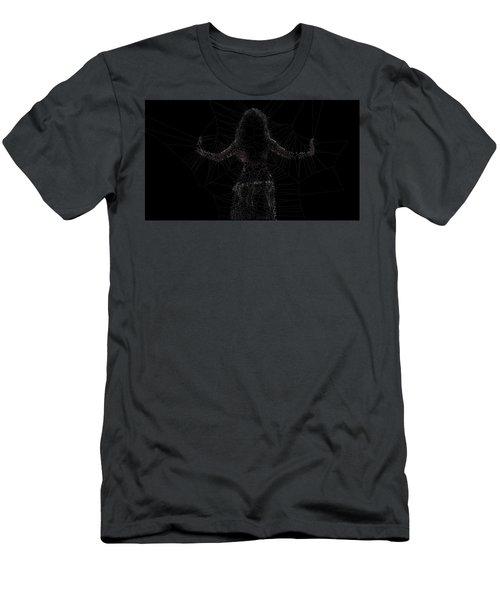 Back Men's T-Shirt (Athletic Fit)