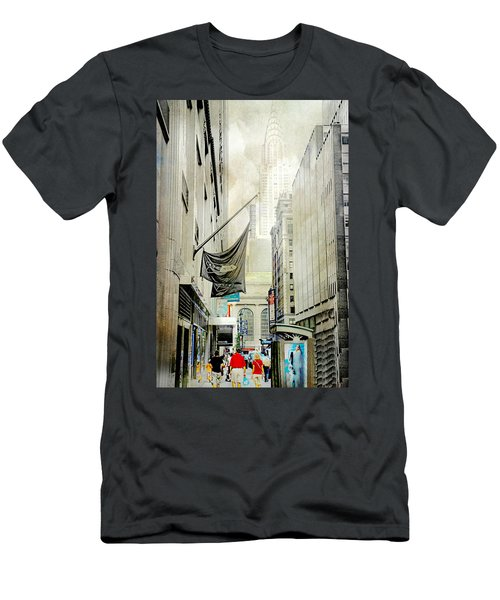 Men's T-Shirt (Slim Fit) featuring the photograph Back To You by Diana Angstadt