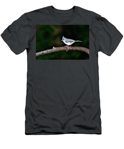 Back Yard Bird Men's T-Shirt (Athletic Fit)