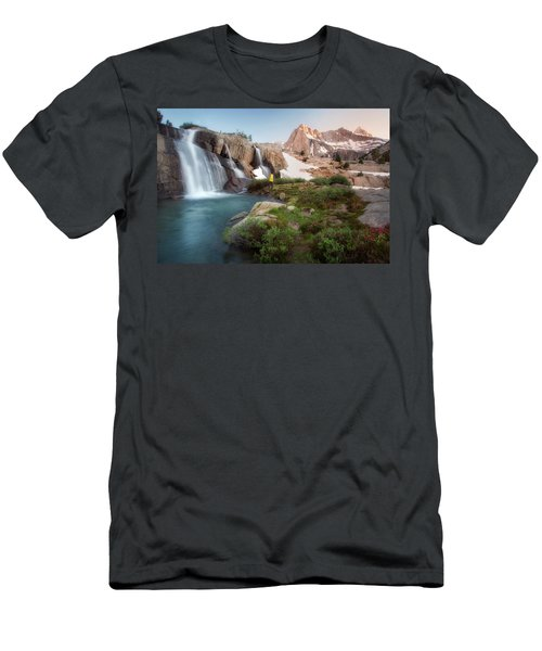 Backcountry Views Men's T-Shirt (Slim Fit) by Nicki Frates