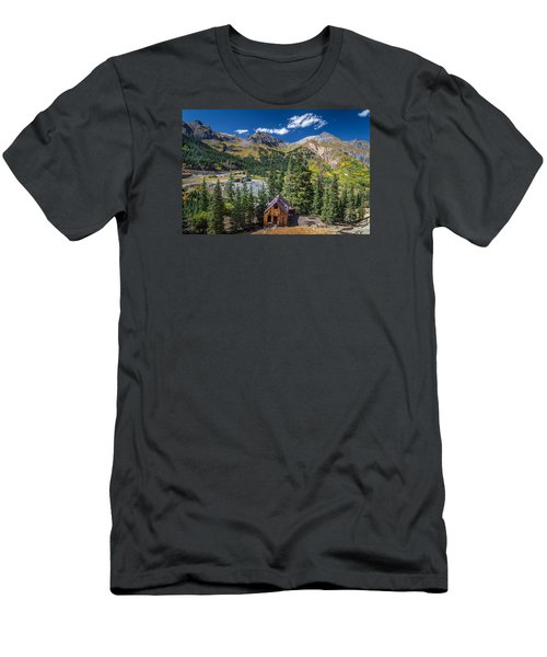 Backroads In San Juan Mountains Men's T-Shirt (Athletic Fit)