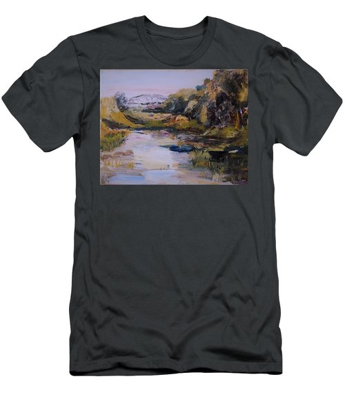 Backwater Near Sertoma Park Men's T-Shirt (Athletic Fit)