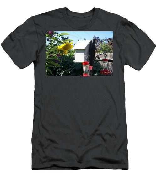Backyard Garden Men's T-Shirt (Athletic Fit)