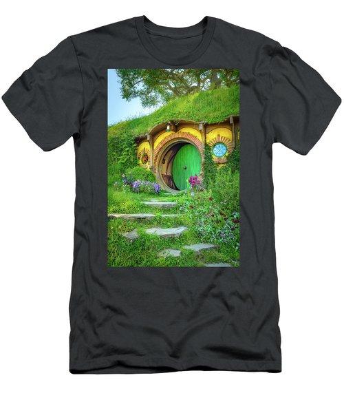 Bag End Men's T-Shirt (Slim Fit) by Racheal Christian