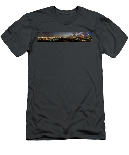 Men's T-Shirt (Slim Fit) featuring the photograph Bahama Night by Jerry Battle