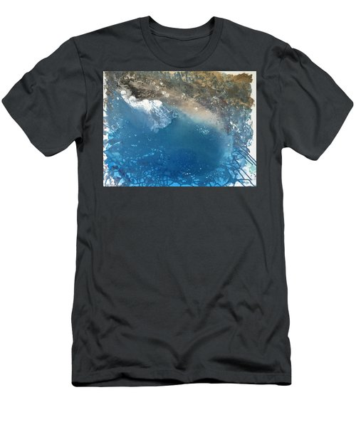 Men's T-Shirt (Athletic Fit) featuring the painting Bajamar by Antonio Romero