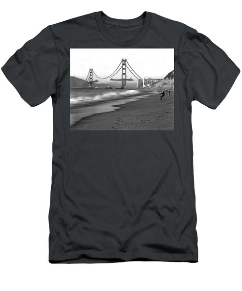 Baker Beach In Sf Men's T-Shirt (Athletic Fit)