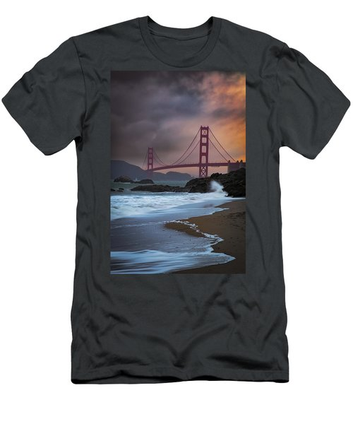 Baker's Beach Men's T-Shirt (Athletic Fit)