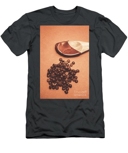 Baking Desserts With Chocolate Men's T-Shirt (Athletic Fit)