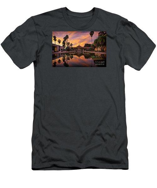 Balboa Park Botanical Building Sunset Men's T-Shirt (Slim Fit) by Sam Antonio Photography