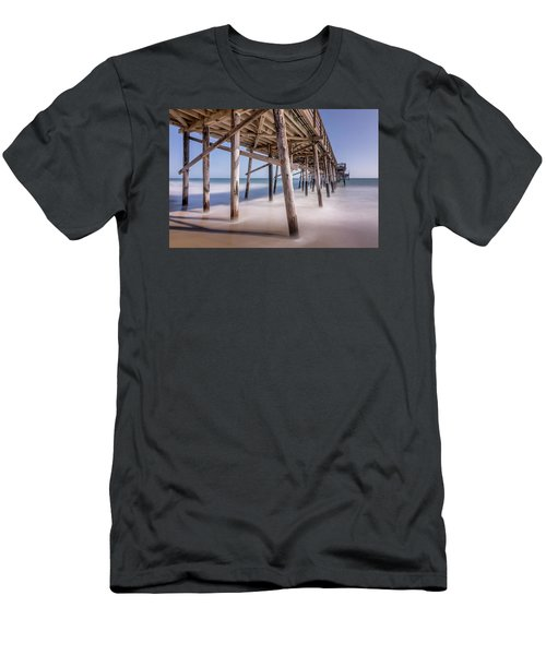 Balboa Pier Men's T-Shirt (Slim Fit) by Jeremy Farnsworth