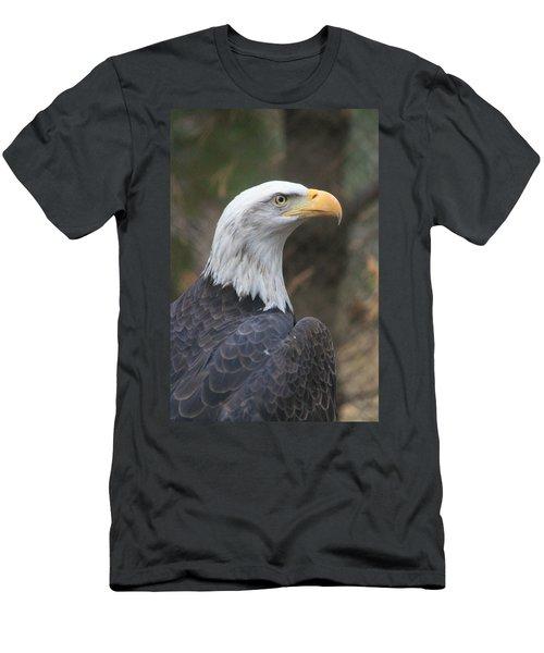 Bald Eagle Profile Men's T-Shirt (Athletic Fit)